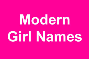 Contemporary girl names