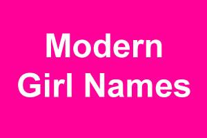 Contemporary girl names