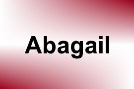 Abagail name image