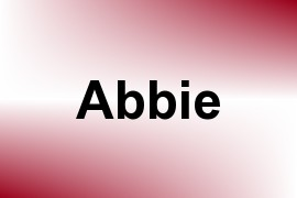Abbie name image