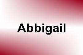 Abbigail name image