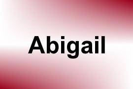Abigail name image
