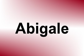 Abigale name image