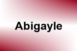 Abigayle name image