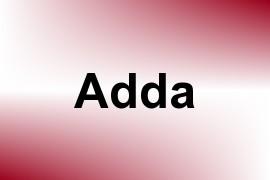 Adda name image