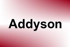 Addyson name image