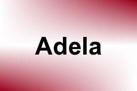 Adela name image