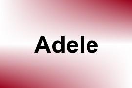 Adele name image