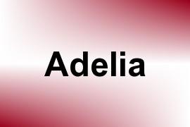 Adelia name image