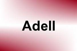 Adell name image