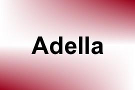 Adella name image