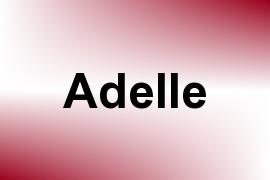 Adelle name image