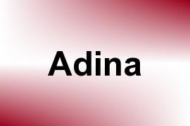 Adina name image
