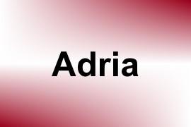 Adria name image