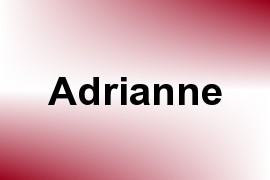 Adrianne name image