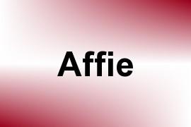 Affie name image
