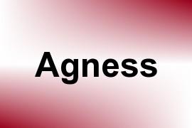 Agness name image