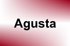Agusta name image