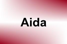 Aida name image