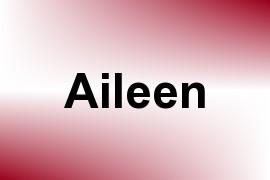 Aileen name image