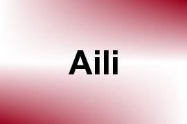 Aili name image