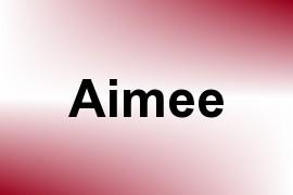 Aimee name image