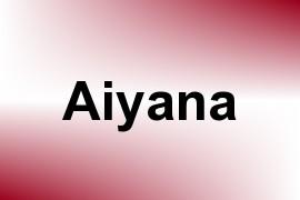 Aiyana name image