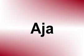 Aja name image
