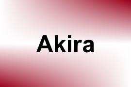 Akira name image
