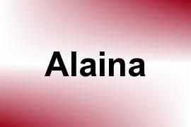Alaina name image