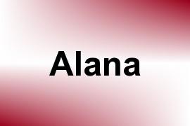 Alana name image