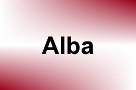 Alba name image