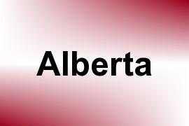 Alberta name image