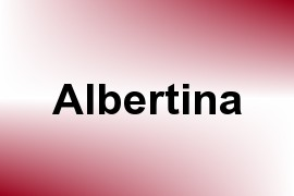 Albertina name image