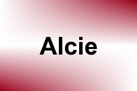 Alcie name image