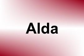 Alda name image