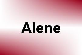 Alene name image