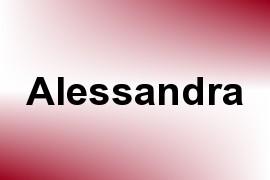 Alessandra name image