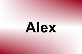 Alex name image