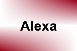 Alexa name image