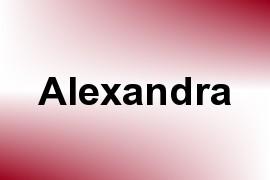 Alexandra name image
