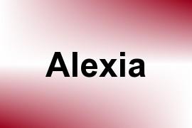 Alexia name image
