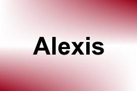 Alexis name image