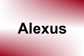 Alexus name image
