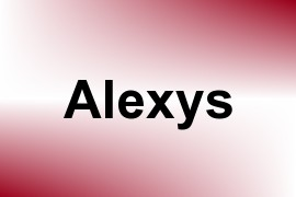 Alexys name image
