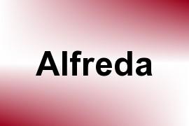 Alfreda name image
