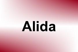 Alida name image