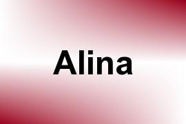 Alina name image