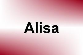 Alisa name image