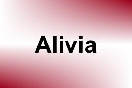 Alivia name image